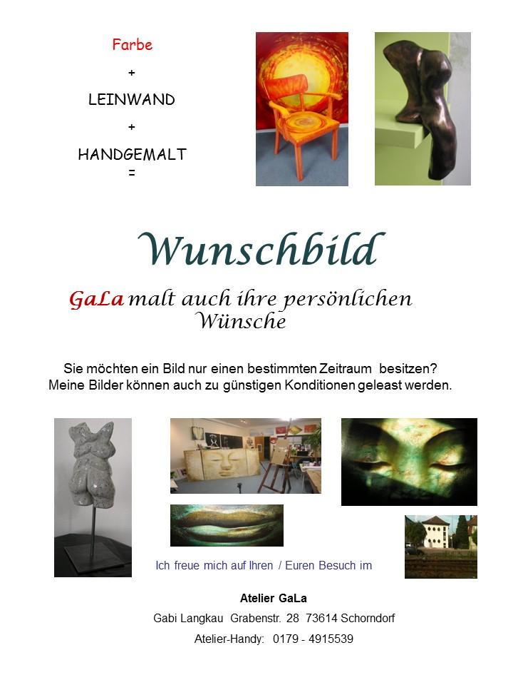 Flyer Wunschbild